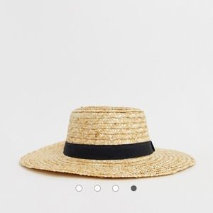 ASOS Accessories - Asos Straw Boater Hat